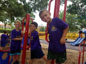 Park adventure summer camp
